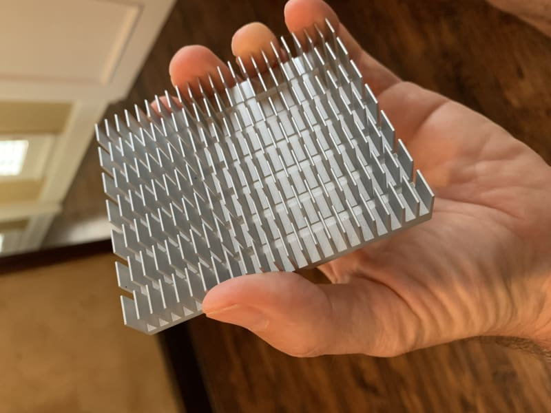 UP Squared heat sink